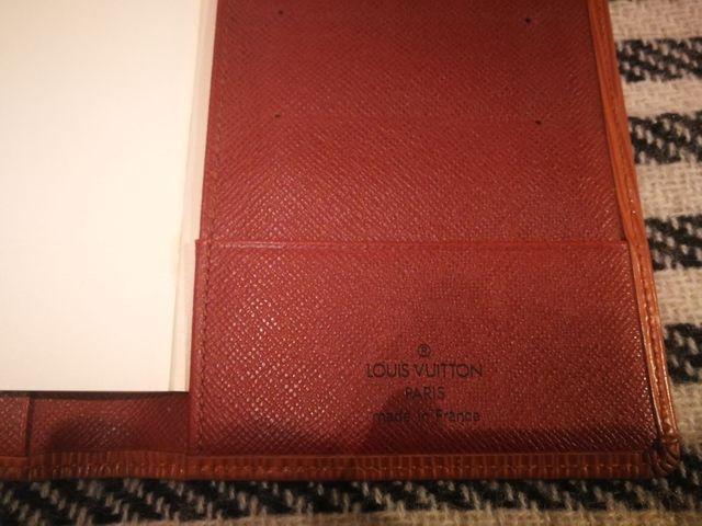 Louis Vuitton agenda de bolso