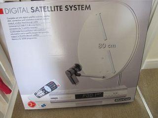 antena parabólica 80cm