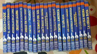 Tintin colección de 21 películas en DVD