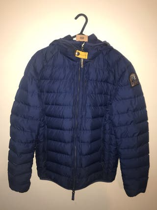 Men's Parajumpers blue padded jacket