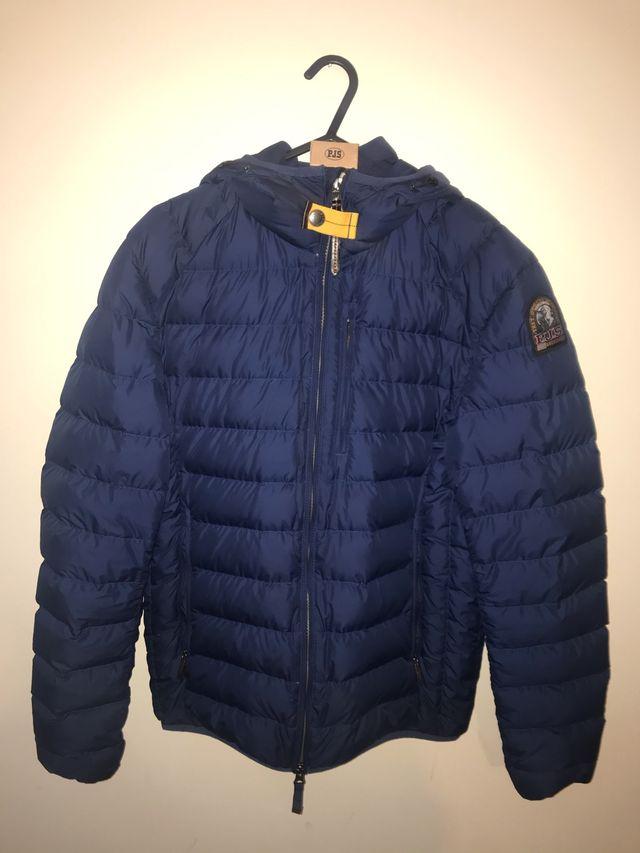 Men's Parajumpers blue padded jacket