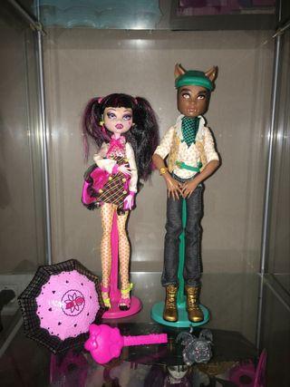 Monster High Clowd y Draculaura
