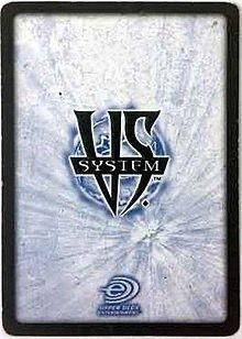 Juego de cartas VS System
