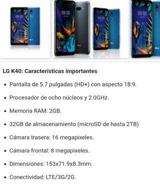 Movil LG K40