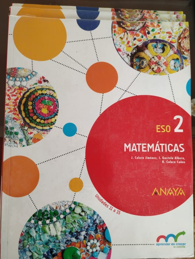 Libros de Segundo de la ESO. (I.E.S Fray Andrés)
