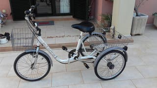 Triciclo con cambio de marchas