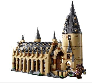 COMEDOR LEGO HARRY POTTER Hogwarts