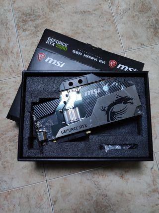 MSI GeForce RTX2080 SEA HAWK EK X