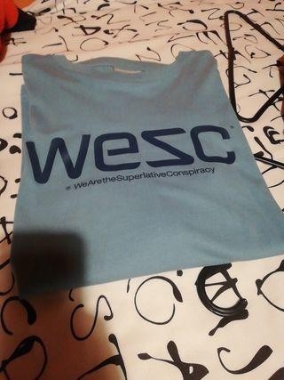 camiseta manga larga Wesc