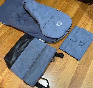 Se vende saco, bolsa y cambiador