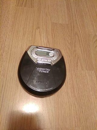 reproductor de CD de audio portátil Philips