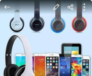 auriculares Bluetooth plegables
