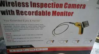 Cámara en tubo Para inspeccionar, con monitor