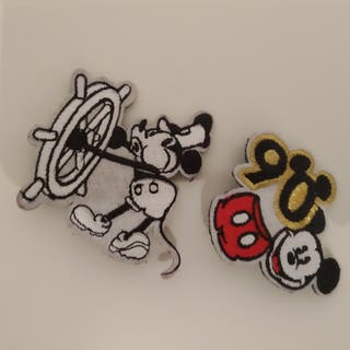 Set of Limited Edition 90' of Mickey Mouse Pins