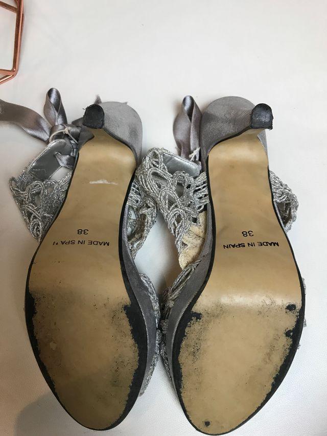 Zapato De Tacón De Fiesta