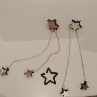 Collection of star earrings