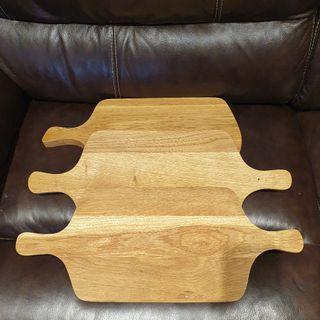 new soild oak chopping board