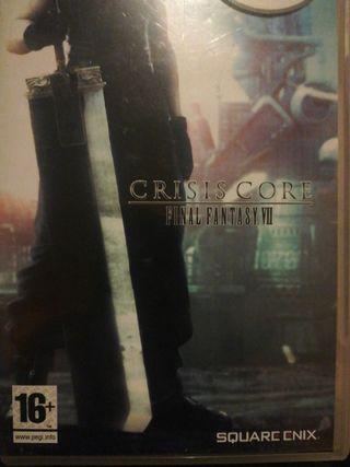 Final fantasy Crisis Core PSP