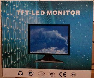 """Monitor táctil tft-led 15"""""""