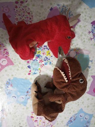 marionetas Jurassic Park lote