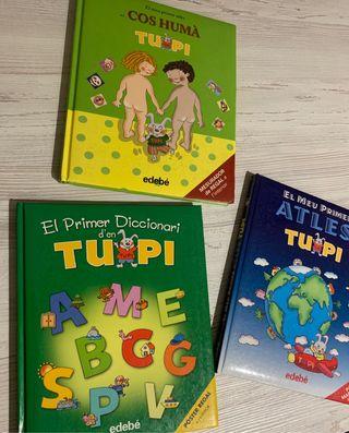 Vendo 3 libros d'en Tupi