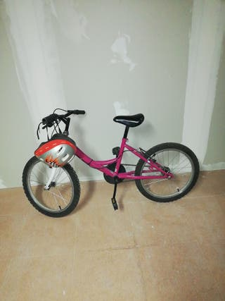bicicleta muy bien cuidada.