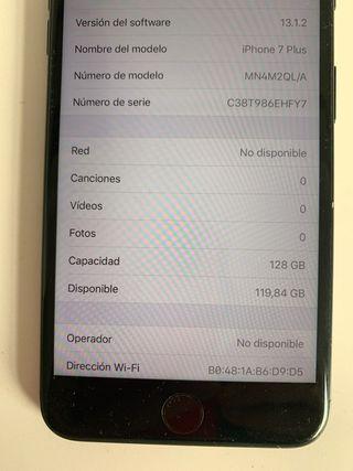 iPhone 7 Plus 128Gb.