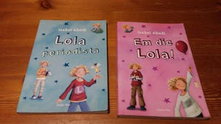 Libros LOLA lectura infantil.6€ los dos.