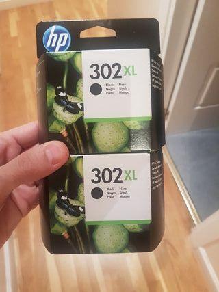 tinta hp 302 xl negro