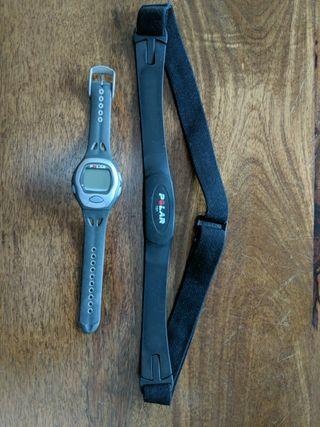 reloj polar electro F5 y banda polar T31