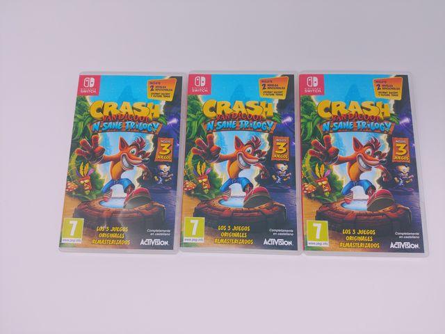 Crash Bandicoot N.Sane Trilogy (Switch)