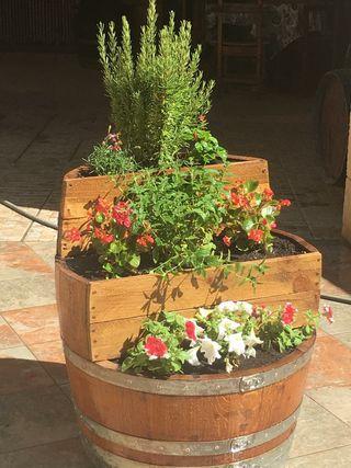jardinera barrica