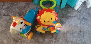lote bebe correpasillos bici fisher price moto niñ