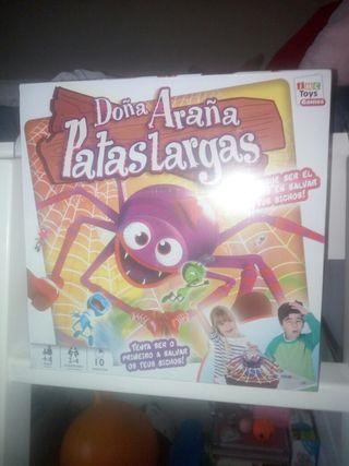 Juego Doña Araña Patas Largas