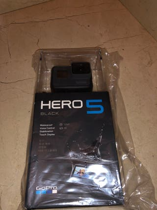 Camara Gopro hero 5 Black nueva precintada 4K