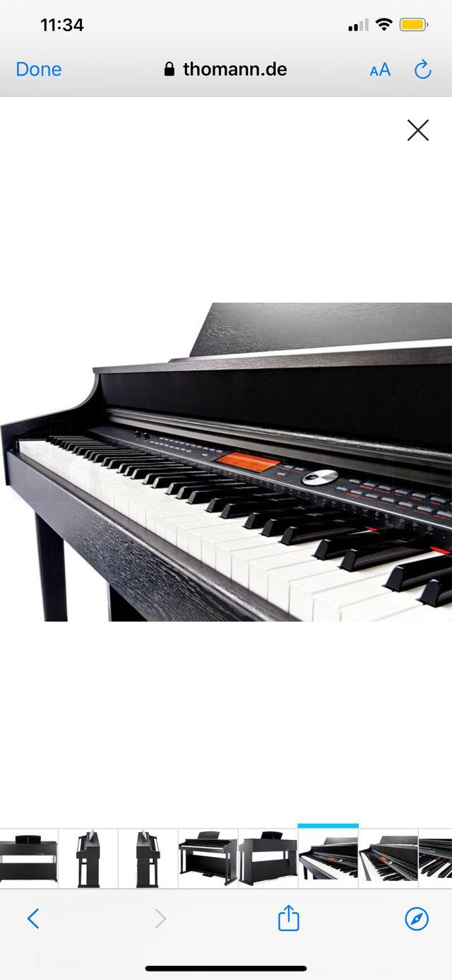 NUEVO piano Thomann con garantía