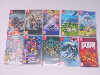 Juegos para tu Nintendo Switch