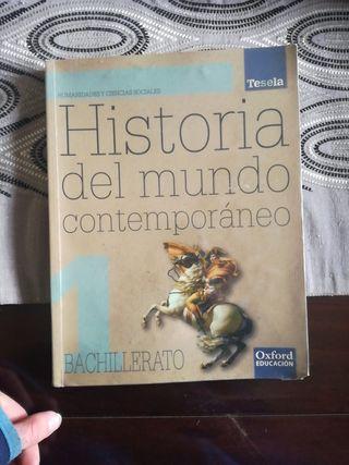 LIbro de Historia del mundo contemporáneo!!!!!