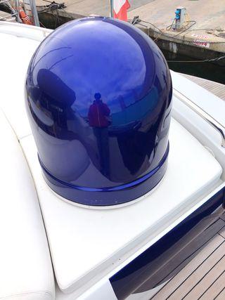 Bola o gemelo para antenas barco
