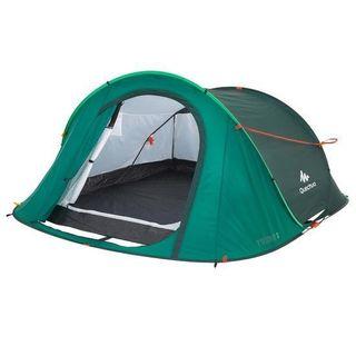 two seconds xl verde tienda de acampada