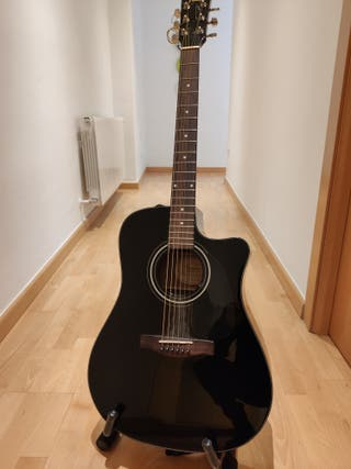 Guitarra acústica amplificable fender