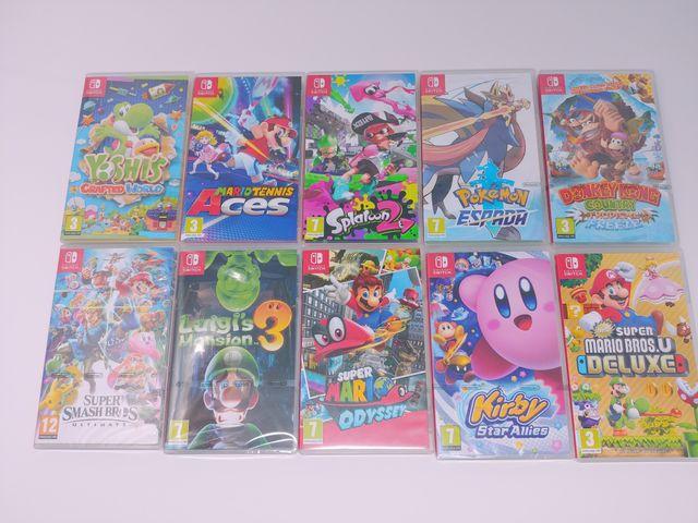 Videojuegos para Nintendo switch