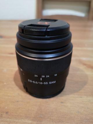 Objetivo Sony 18-55. 3.5-5.6