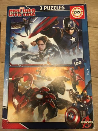 Puzzle capitán america