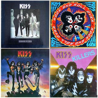 discos vinilo KISS
