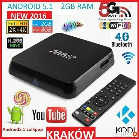 M8S+ Android set top box