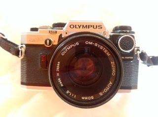 Màquina fotografiar Olympus OM 10