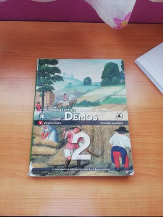 Libro de Geografía e Historia de 2 Eso