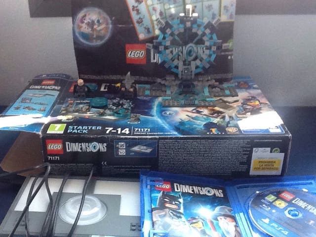 Dimensions lego ps4.