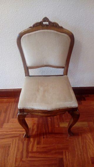 silla de dormitorio